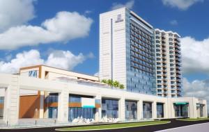 Façade design of Grand hotel and Casino International