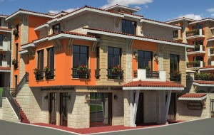 "A residential complex in the villa zone ""Zora"", Nesebar region"