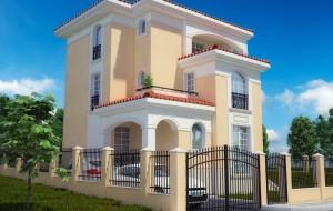 Еднофамилна жилищна сграда в гр. Свети Влас 3D 3